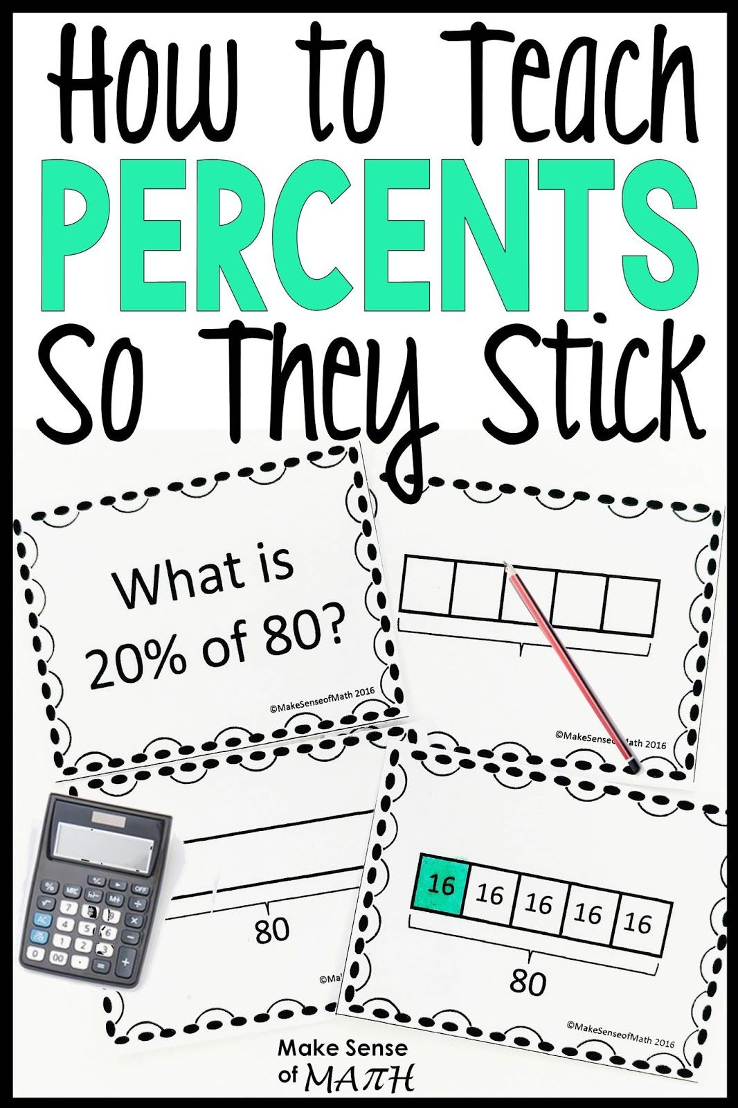How To Teach Percents So They Stick