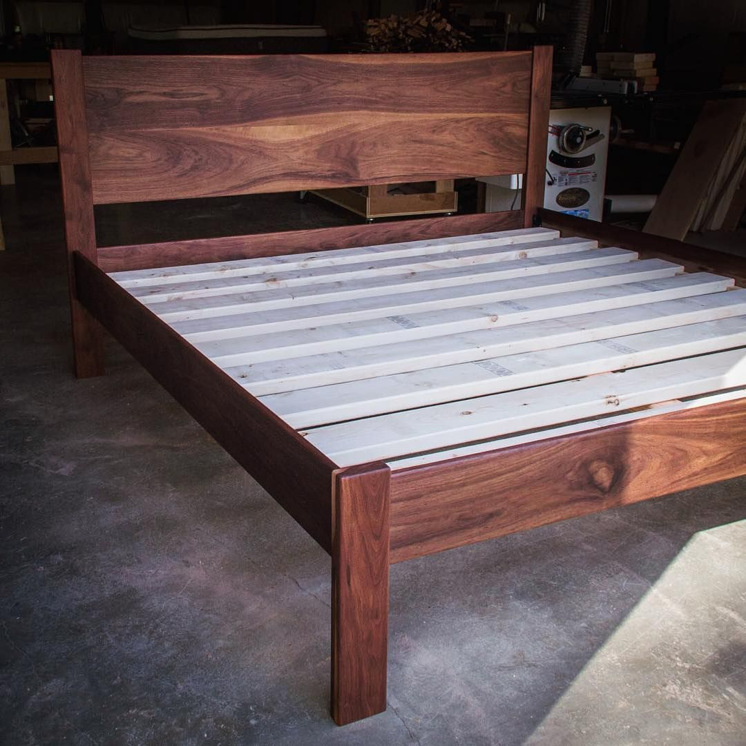 a huge walnut bed ( headboard king) heading to san francisco  - a huge walnut bed ( headboard king) heading to san francisco tomorrow