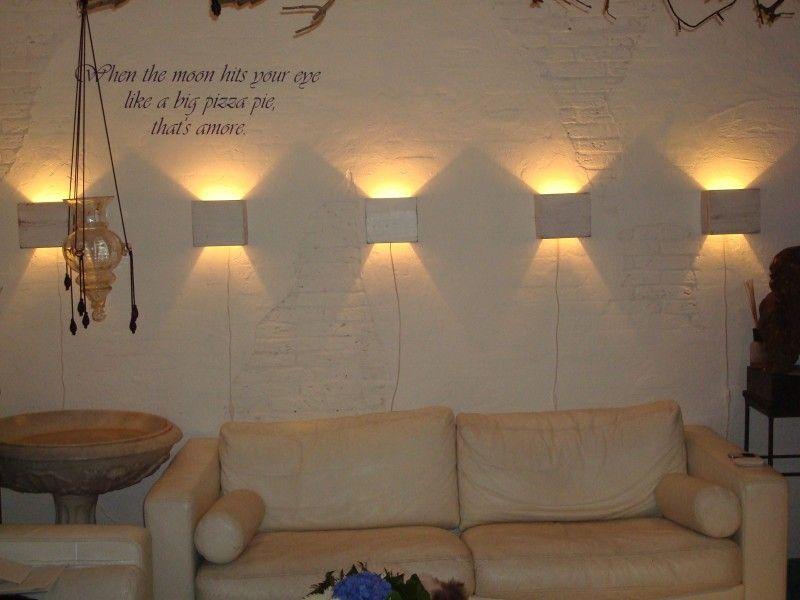 6 wandlampen voor prijs van 5 handgemaakte lampen in for Wandlamp woonkamer