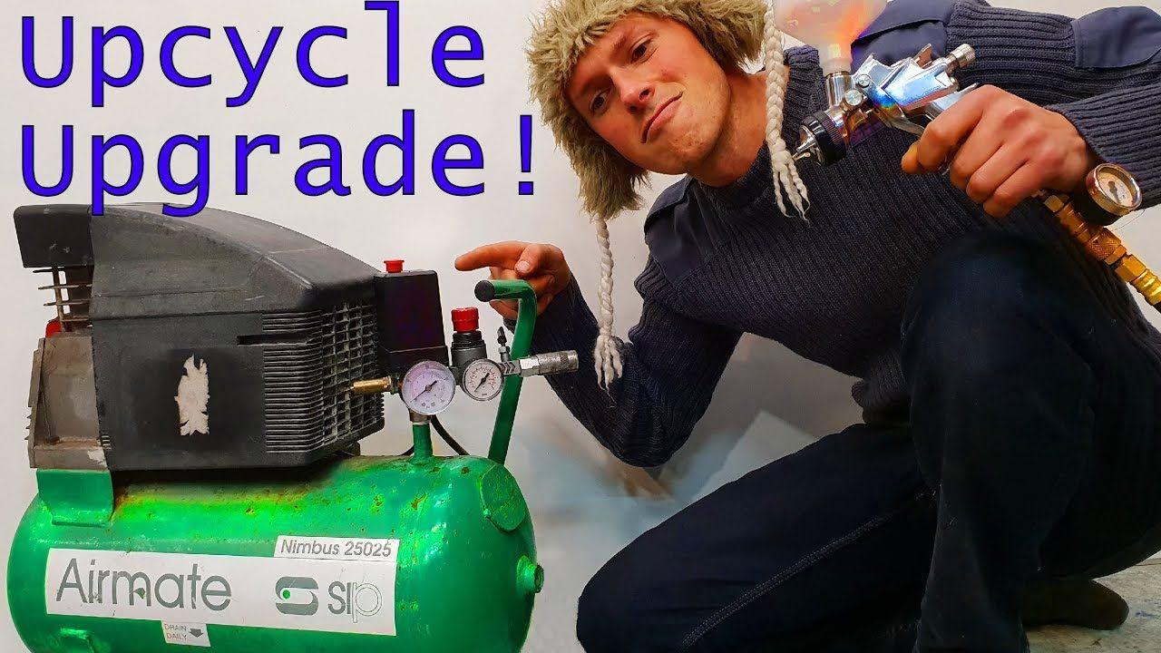 Hack a Cheap Air Compressor to Spray Paint a Car Air