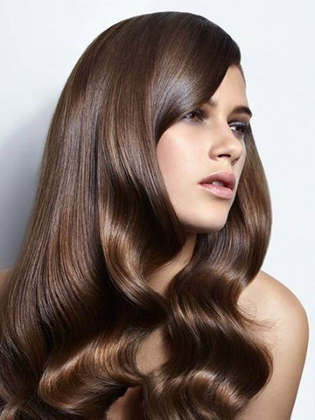 color hair Chestnut brown