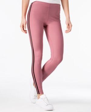 31fe97f59037ac Ultra Flirt Juniors' Printed Sporty Side-Stripe Leggings - Purple S ...