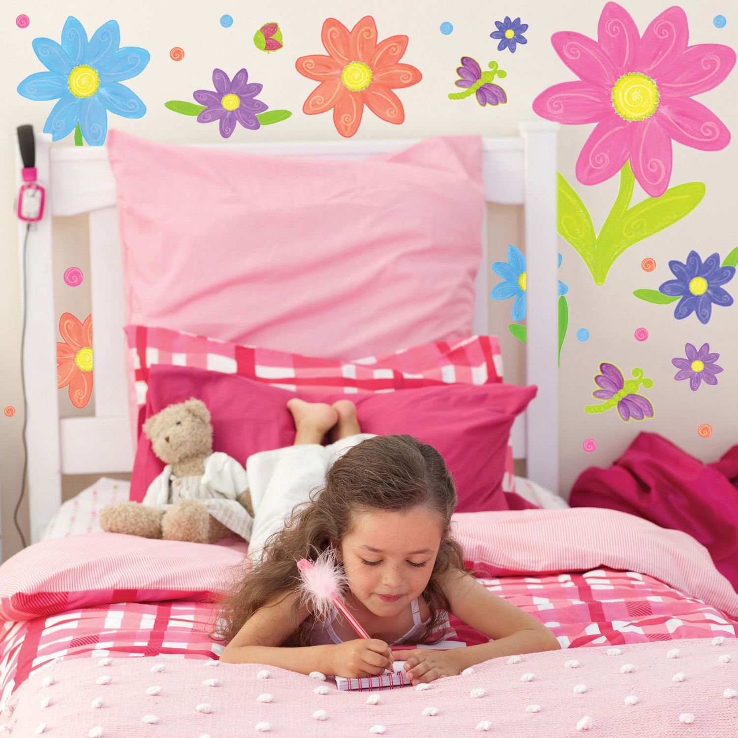 Wall Decor For Girls Girls Wall Decals Wall Stickers Pinterest Girls Photos And