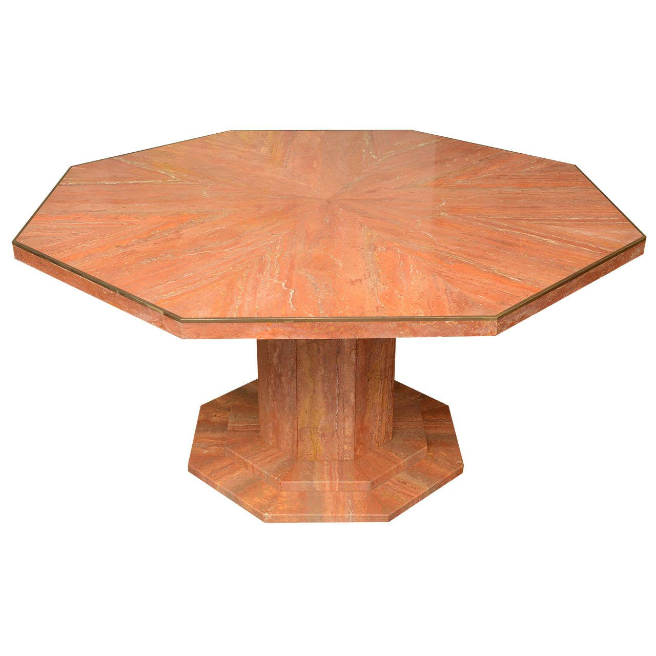 Octagonal Marble Dining Table From A Unique Collection Of Antique And Modern Dining Room Tables At Https