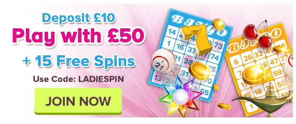 Bingo Sites Free Spins No Deposit With Images Bingo Sites