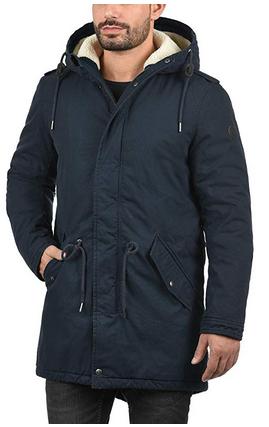JUST BOY M003 Dunkelgrau XL [4D4] Herren Mantel Jacke