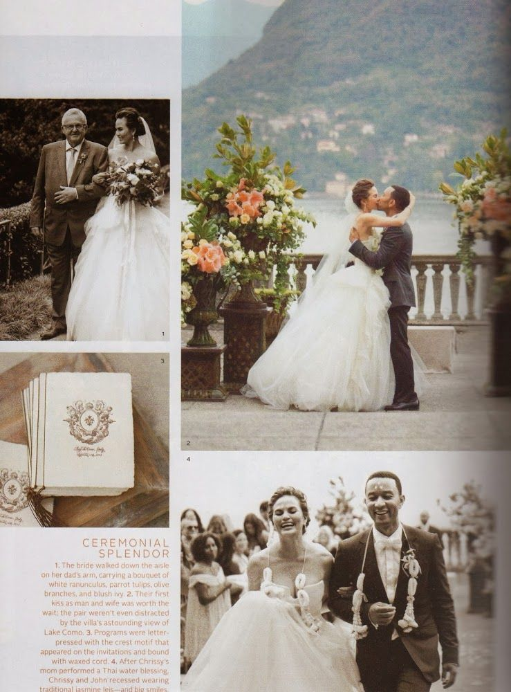 john legend & chrissy teigen wedding | je t'aime. | wedding