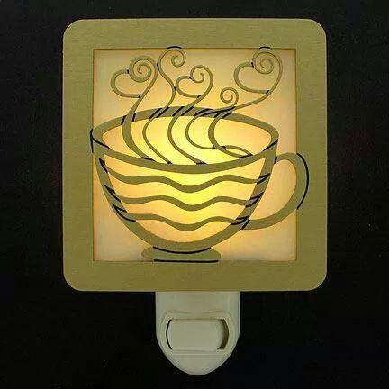 Coffee mug night light