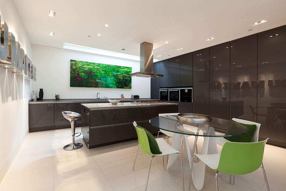 Kitchen & Dining, Small Mews House in Notting Hill