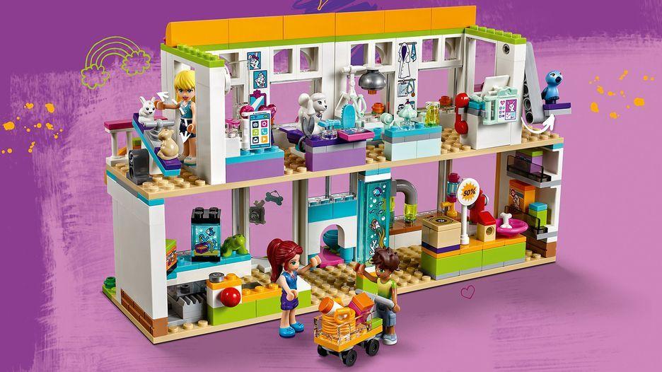 Heartlake City Pet Center 41345 Friends Buy Online At The Official Lego Shop Us City Pets Pets Lego Friends