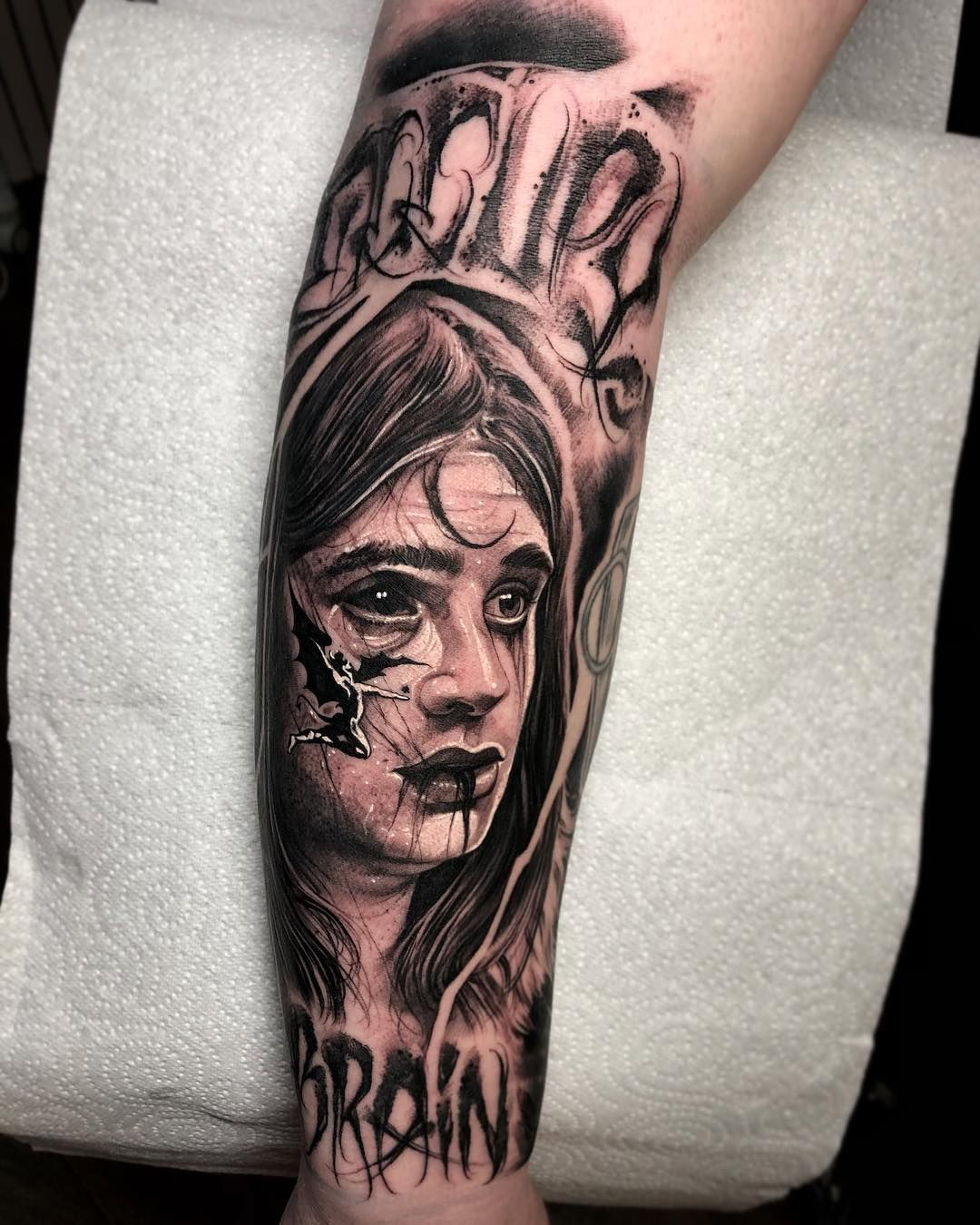 Ozzy Osbourne Portrait Tattoo Anrijs Straume On Instagram 70 S Ozzyosbourne Blacksabbath Thankyou Eth Ozzy Tattoo Create A Tattoo Day Of Dead Tattoo