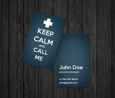 Psychologist Business Card By Oksanias On Deviantart Psychology Business Card Psychologist Business Card Business Cards Creative