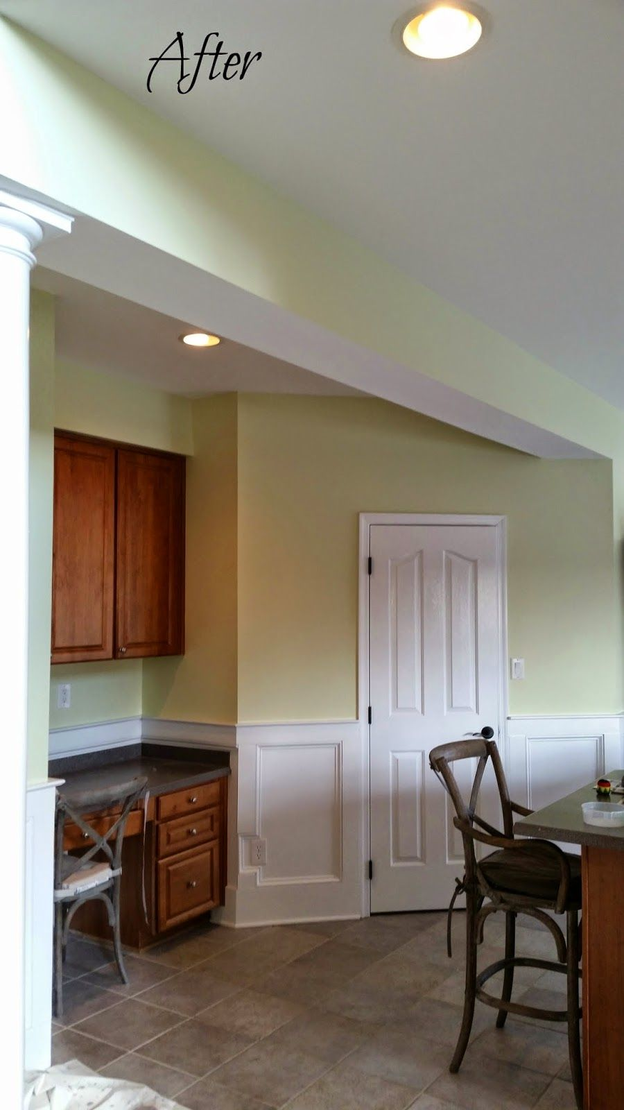 Benny B S Painting Kitchen Before After Kitchen Colors Green Paint Colors Sherwin Williams Paint Colors