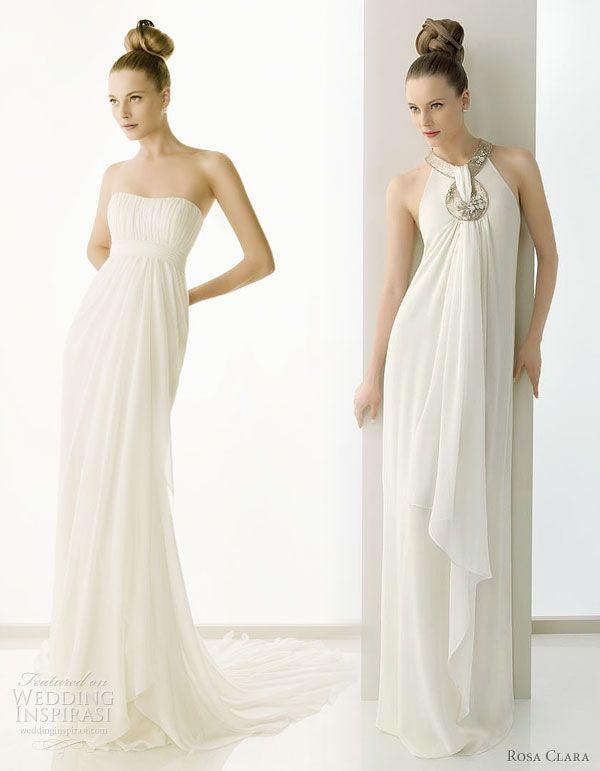 Rosa Clará 2011 Beautiful Wedding Dresses | Pinterest | Griechische ...