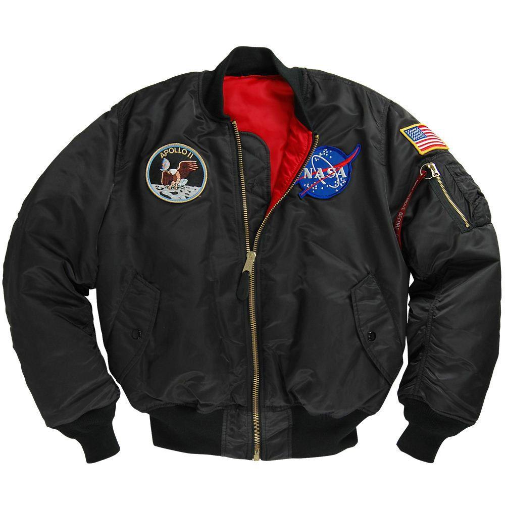 0d457beb3 Alpha industries ma-1 nasa apollo flight jacket xs,s,m,l.xl,2xl,3xl ...
