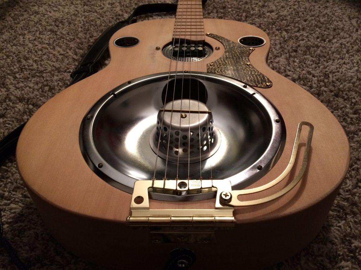 Delta Blues Acoustic Resonator Guitar Mod Project Resonator Guitar Guitar Acoustic