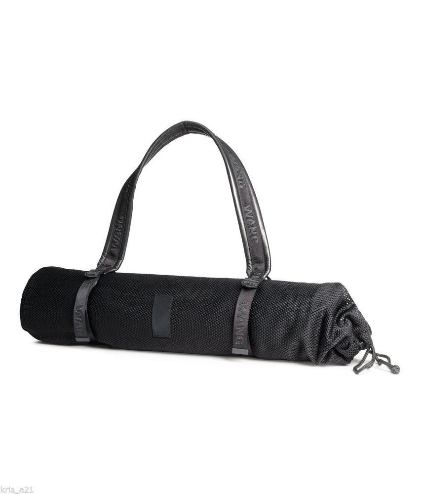6aa93323de1 Alexander Wang for H&M black Yoga Mat & Bag FREE SAME DAY PRIORITY SHIPPING  gym