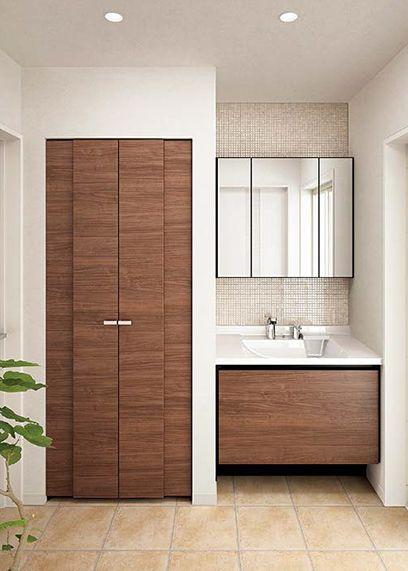 洗面所 おしゃれまとめの人気アイデア Pinterest Demel0906 現代的なバスルーム 洗面 キッチン リフォーム マンション
