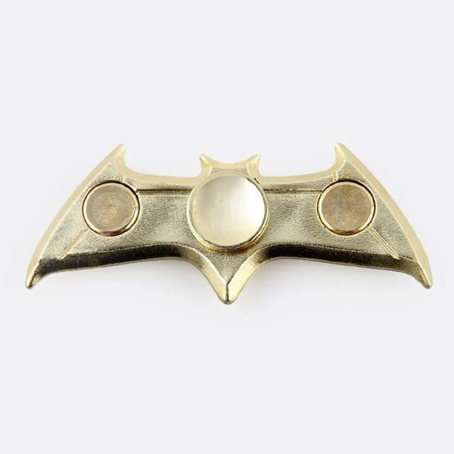 Bronze The Avengers Triangle Gyro Finger Spinner Fidget EDC Hand Alloy Metal