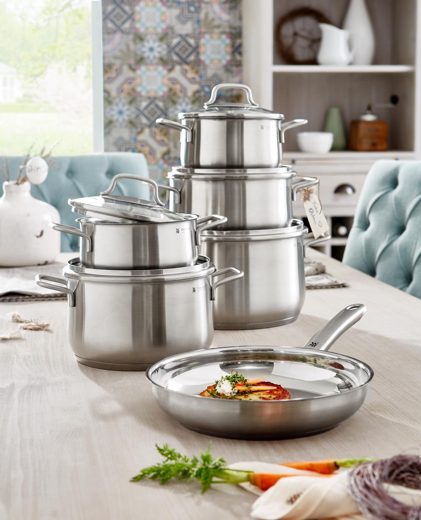 kochtopfset 6 teilig in 2019 kitchen stuff pinterest kitchenware kitchen und wmf. Black Bedroom Furniture Sets. Home Design Ideas