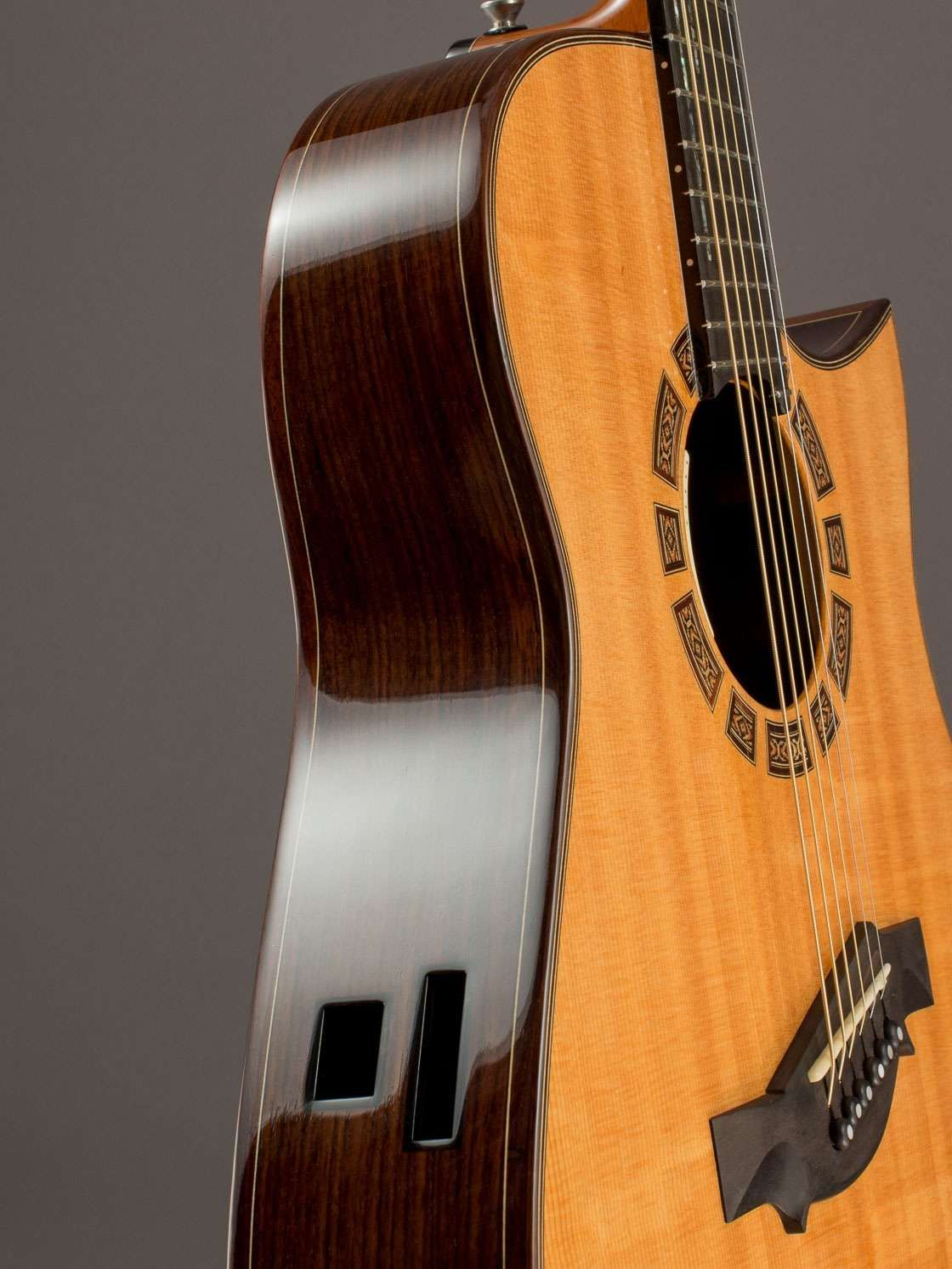 1996 Somogyi Thin Modified Dreadnought Indian Rosewood Sitka Spruce Guitar Sitka Sitka Spruce
