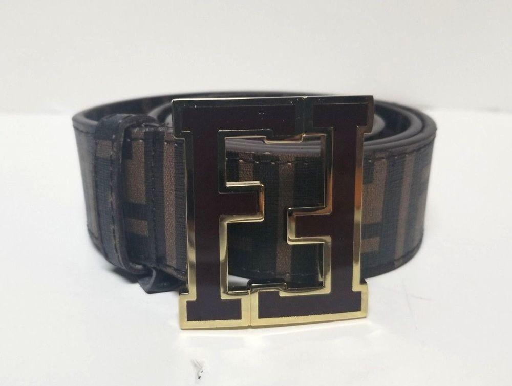 f0beabbfdf7 Fendi MENS Belt size 34  Brown Black  fashion  clothing  shoes  accessories   mensaccessories  belts (ebay link)