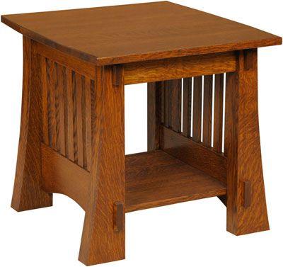 Craftsman Mission End Table