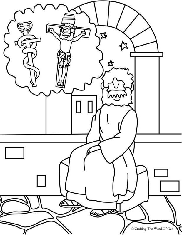 Nicodemus 2 (Coloring Page) Coloring pages are a great way to end a