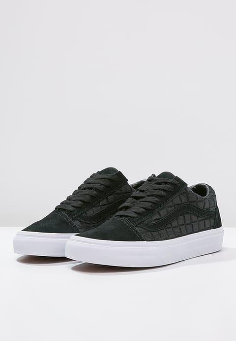Skool 50 58 Black Old Noir Baskets Vans Basses p7ABxB