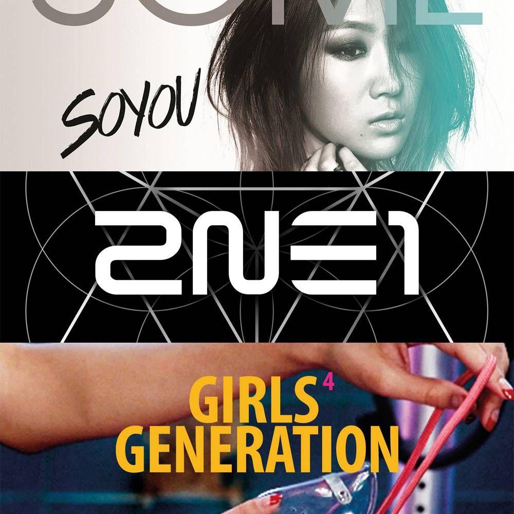 Soyu, JungGiGo, 2NE1, And Girls' Generation Top Instiz