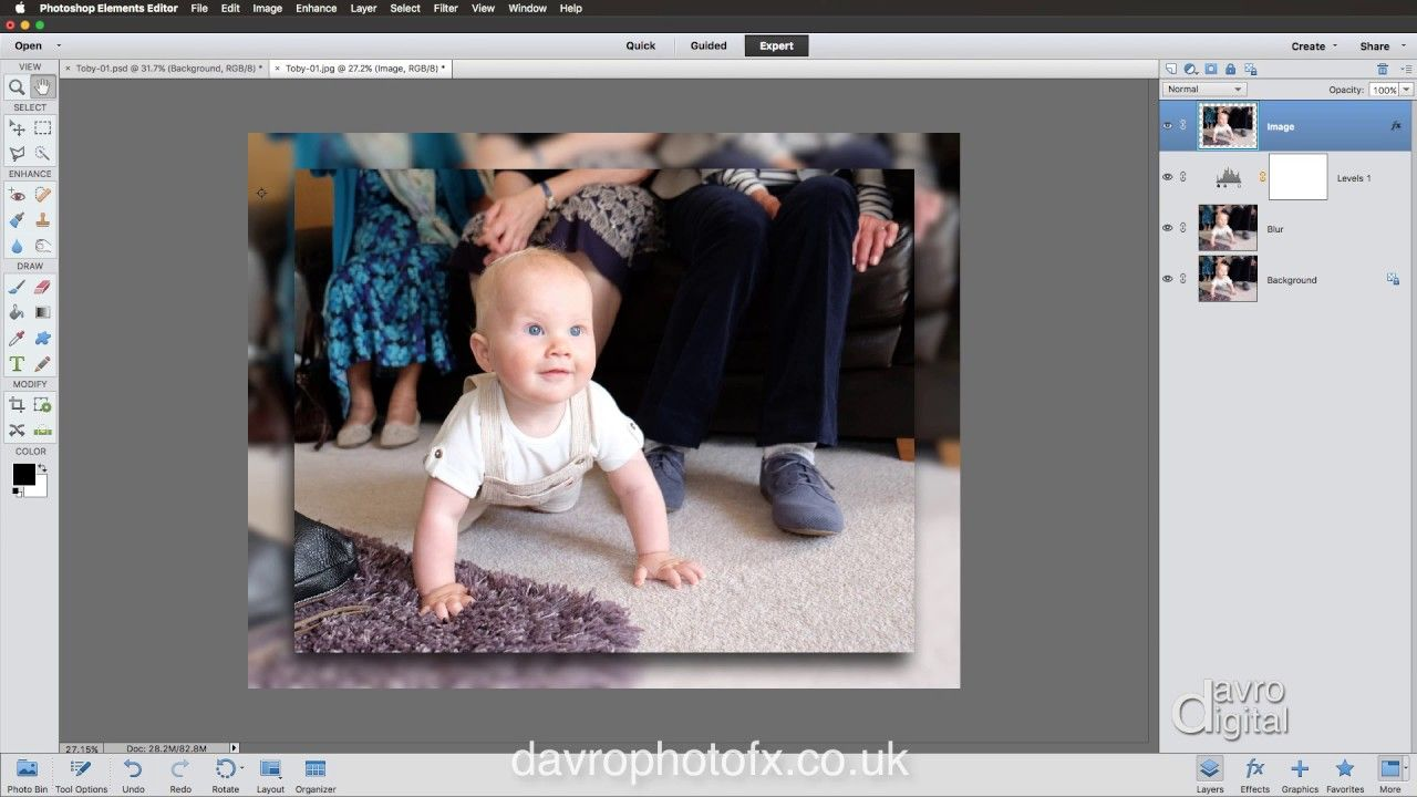 Creating a blurred border effect using layers in elements creating a blurred border effect using layers in elements baditri Images