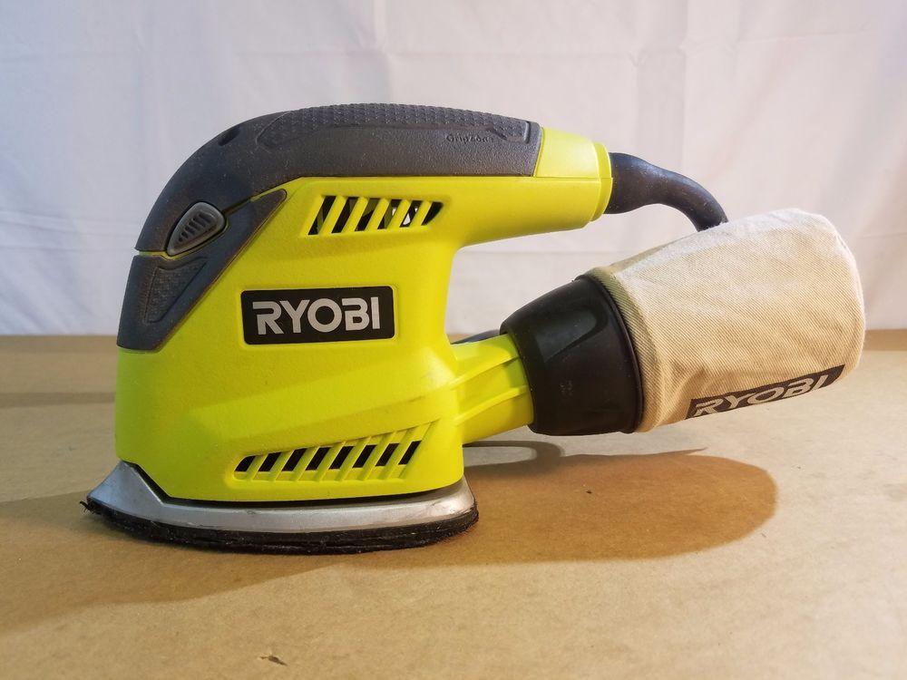 Ryobi S652DGK 2 Amp 1//4 Sander Kit