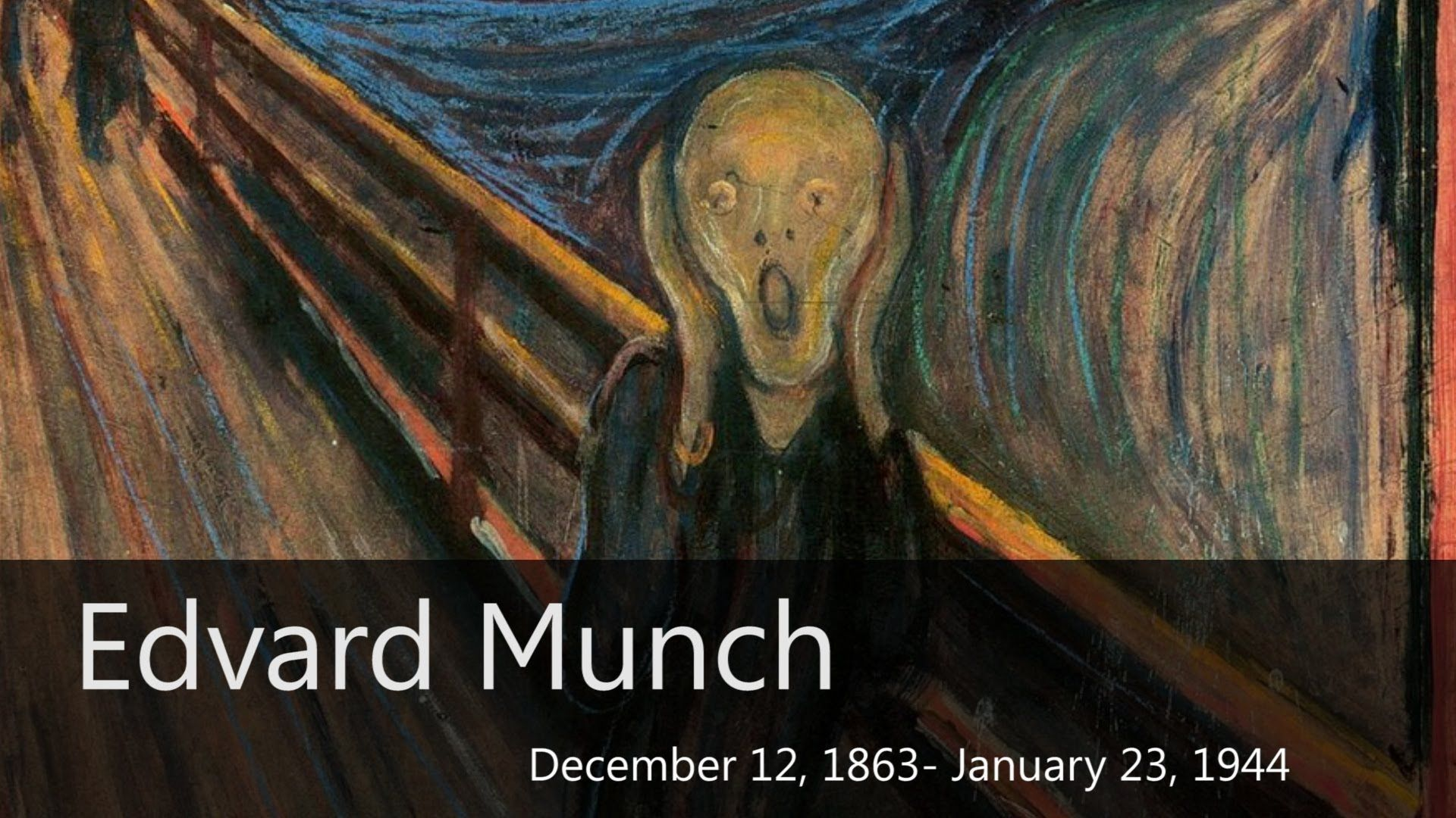Munch Cuadros Edvard Munch Biography Goodbye Art Academy 4th 5th Grade Art