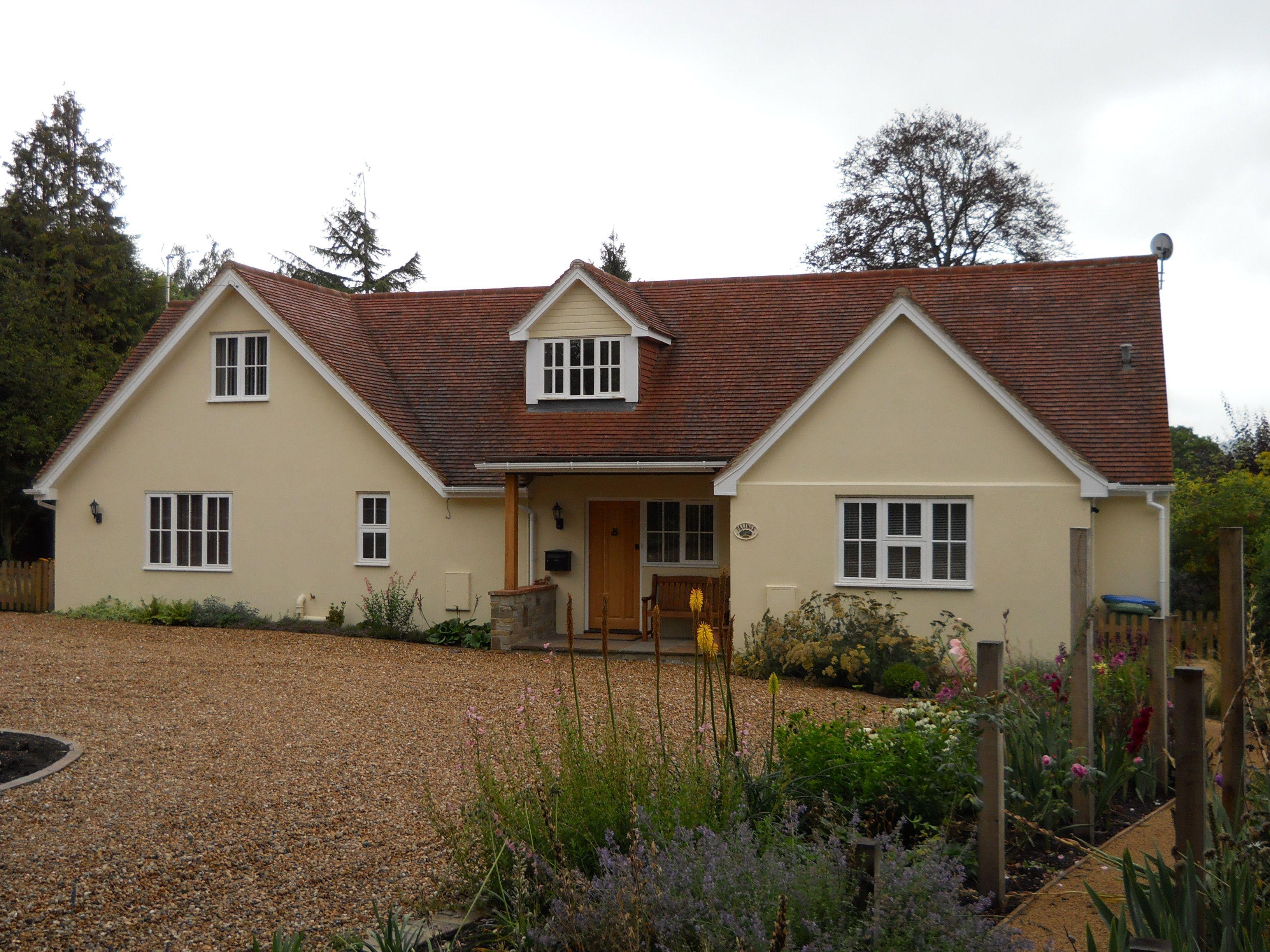 Building refurbishment horizon design ideas for the for Chalet style bungalow images