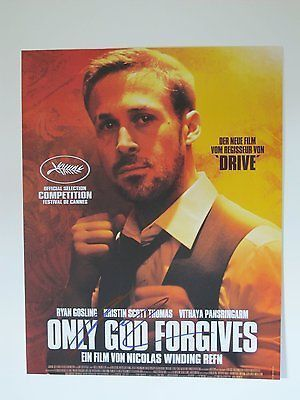 Nicolas Refn Autographed Signed 11X14 Poster COA 'Drive Only God Forgives'