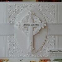 Item #4514 · Heart Prints/spellbinders cross dies...