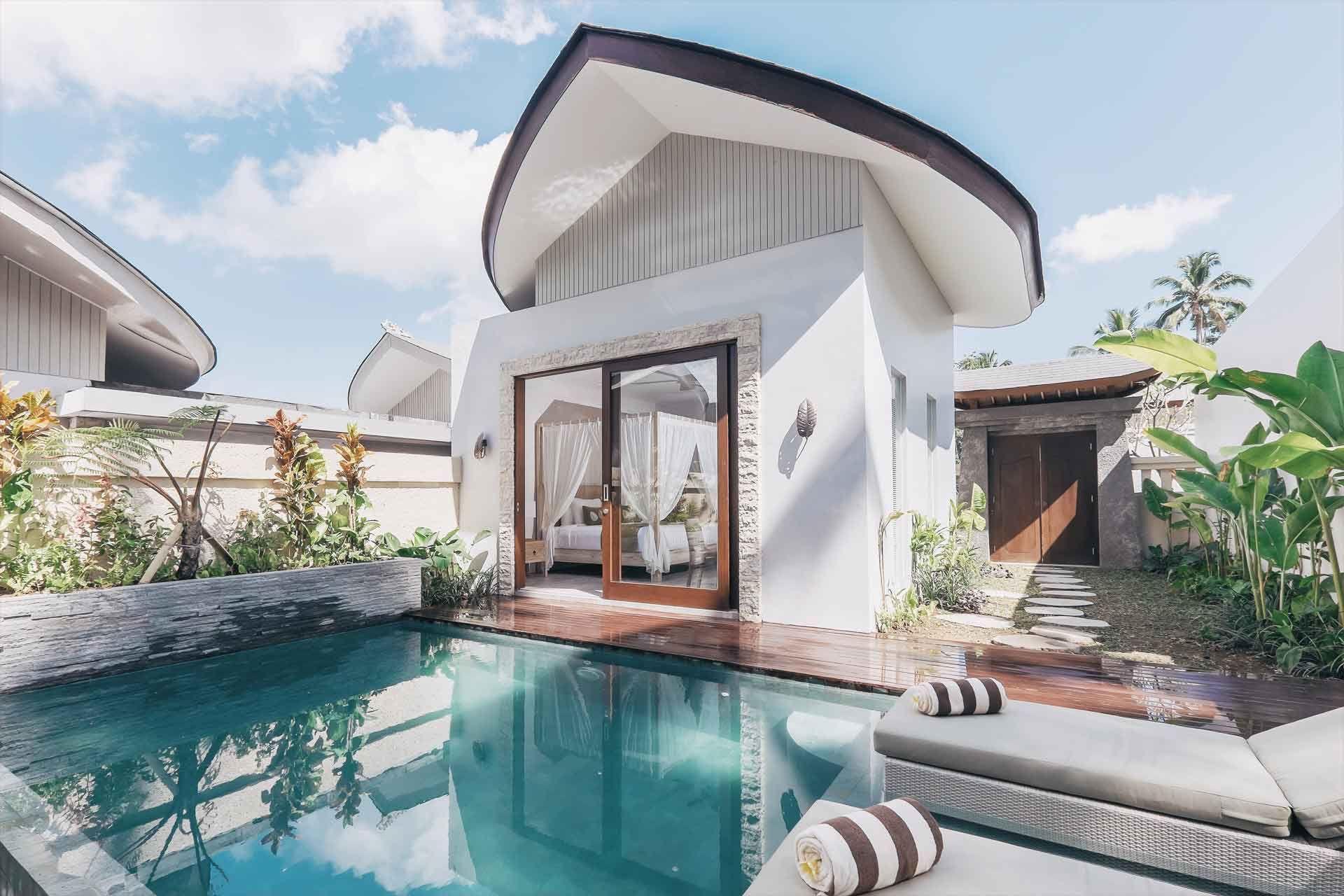 Daun Lebar Villas Ubud One Bedroom Pool Villa Resort Villa Ubud Hotels Bali Hotels