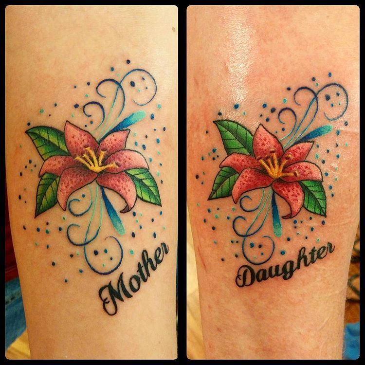 Did these matching mother daughter tattoos last week ...