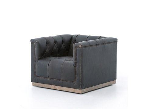Four Hands Maxx Swivel Chair Cken F4z 928 D Amp P Mac