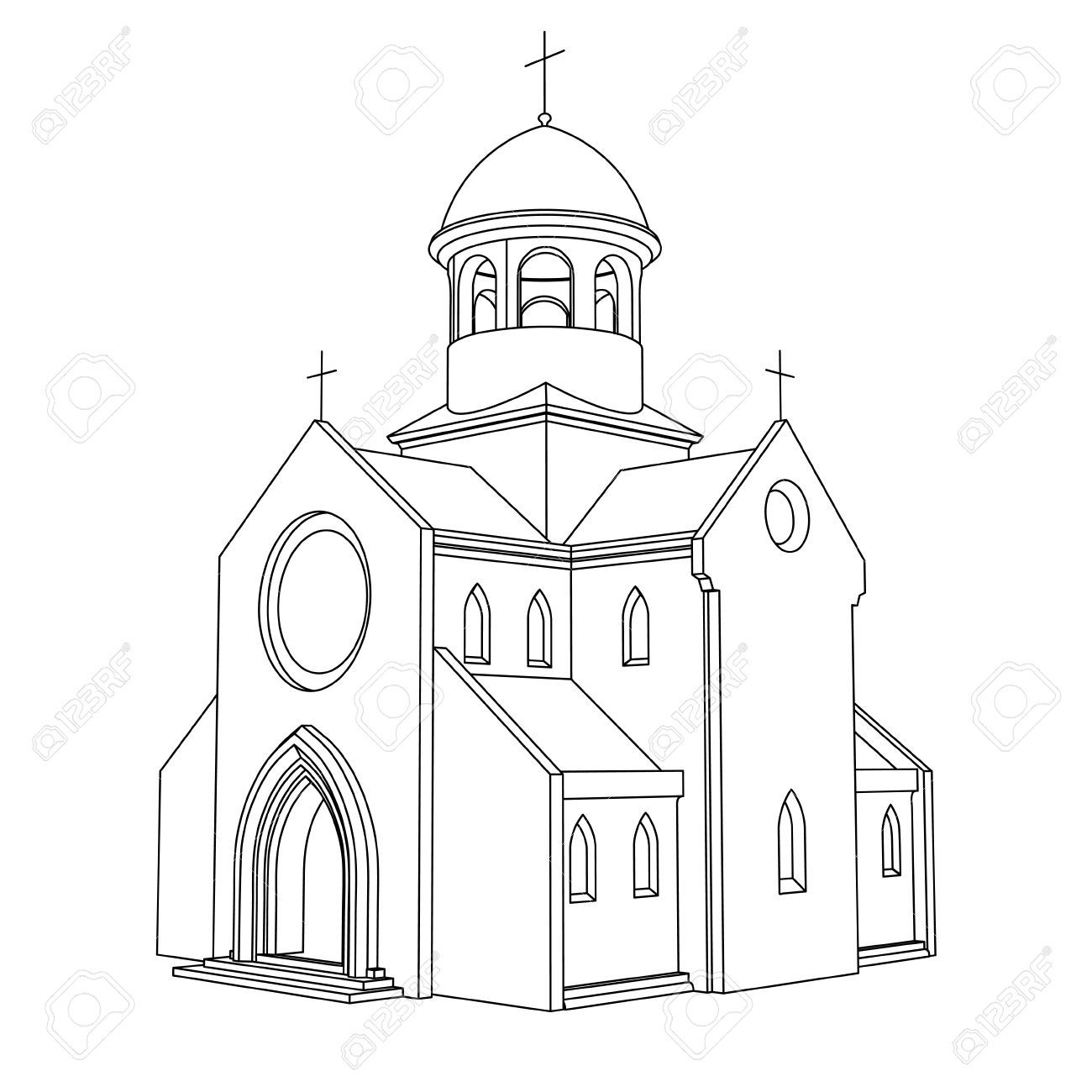 Cathedral Line Drawing Google Search Arquitectura Barroca Arquitectura Barroco