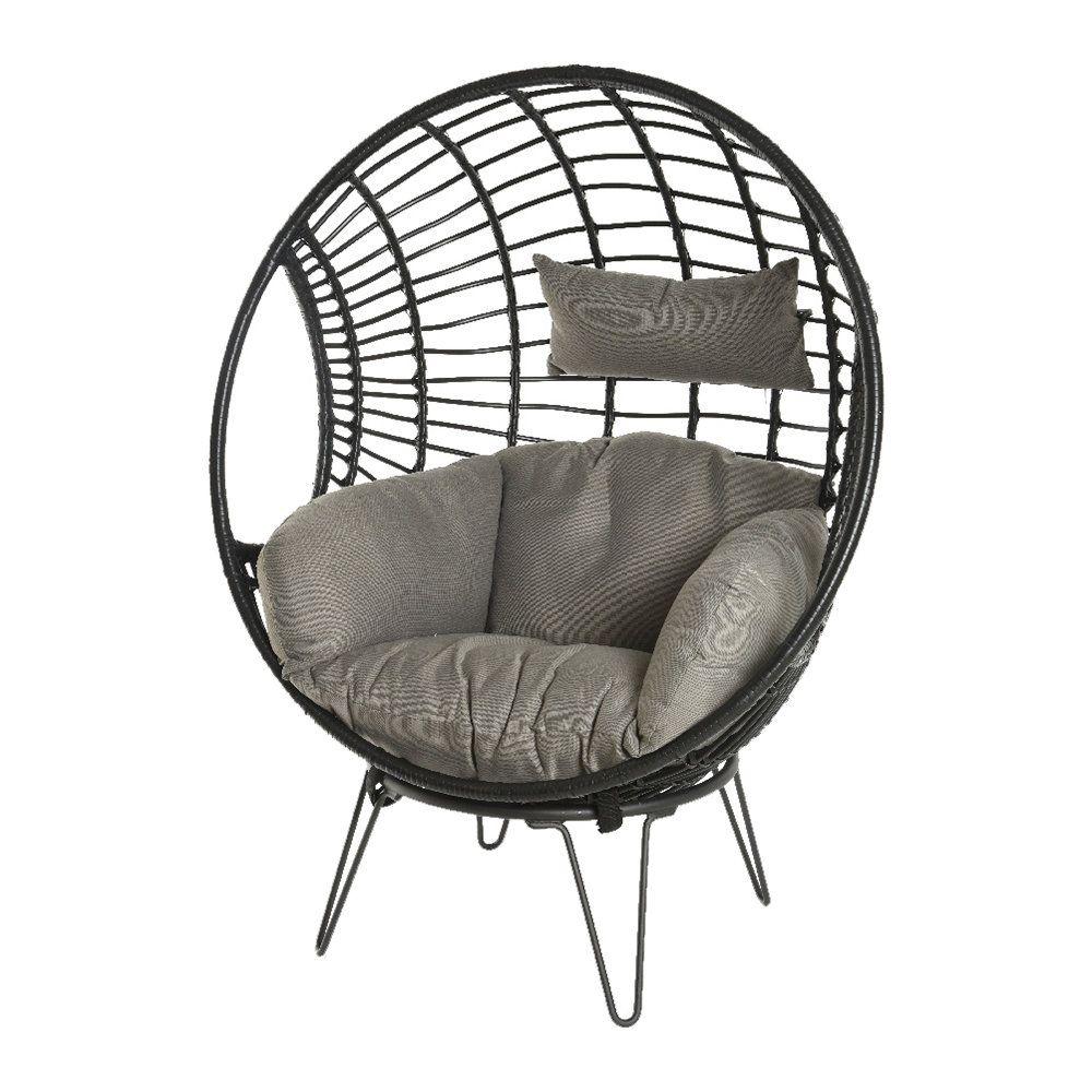 Discover the a by amara london egg chair black at amara
