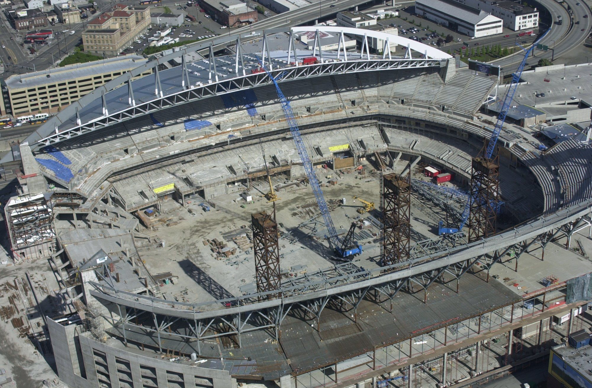 Seattle Seahawks Centurylink Field While Under