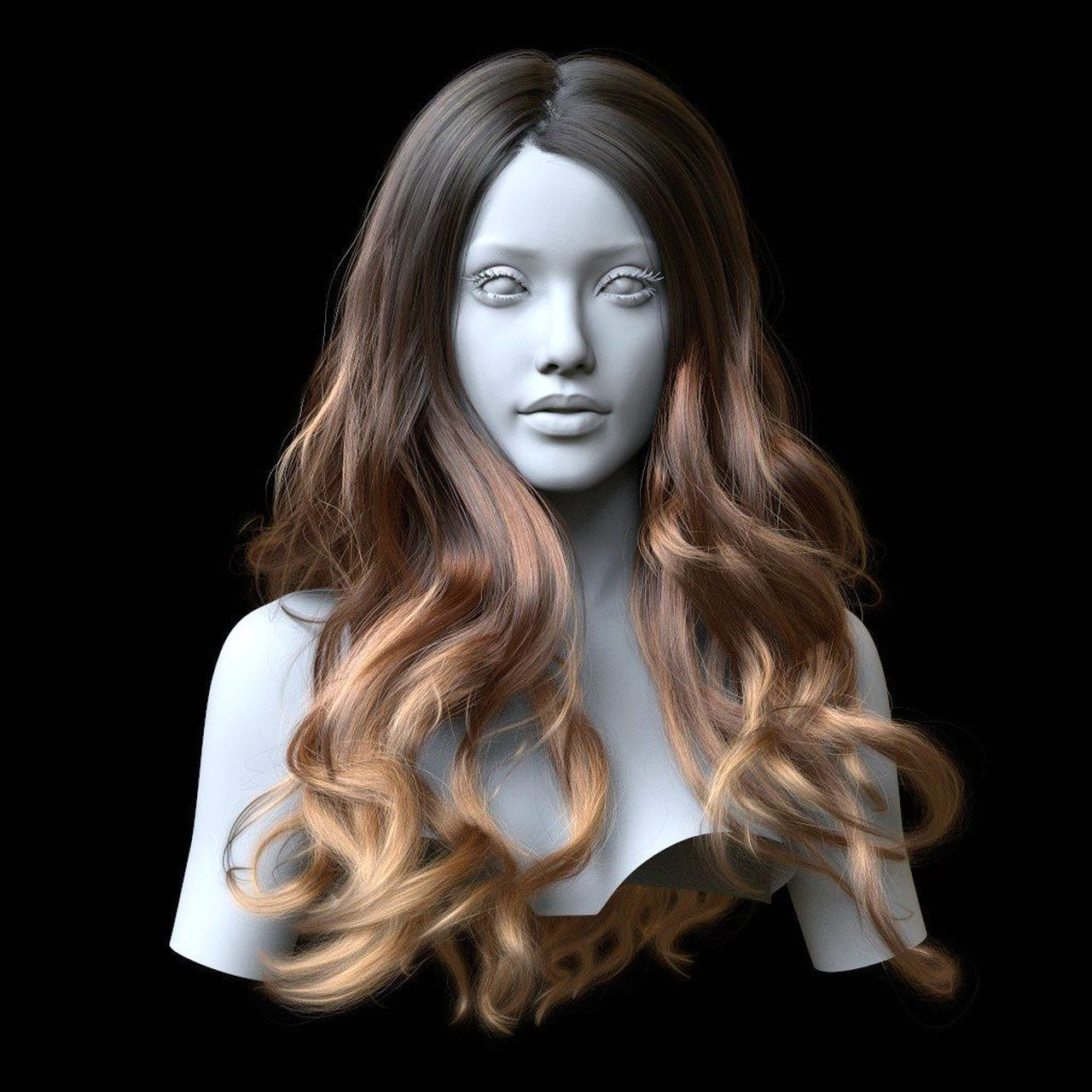 Ornatrix Maya: Hair Guides Sculpting Time-Lapse, 3dsmax