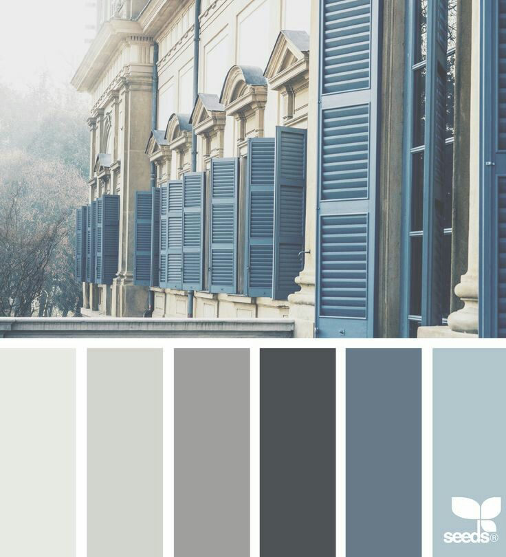 Dark Gray Color Scheme: Urban Brands Don't Need To Be Harsh. Great Colour Palette