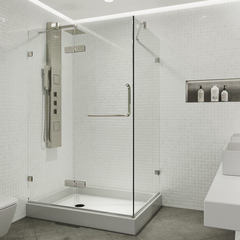 Vigo Vg601140wl Frameless Shower Enclosures Shower Enclosure