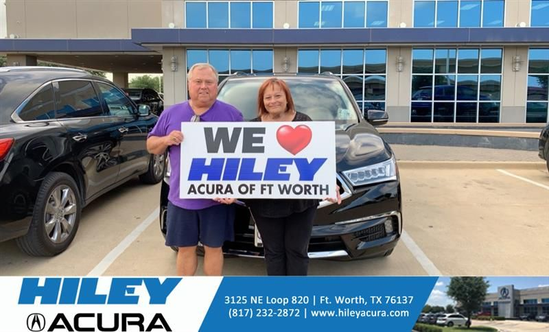 #HappyAnniversary to Phillip and your 2019 #Acura #MDX from Everyone at Hiley Acura!