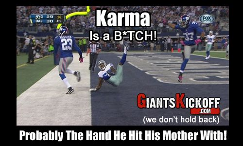 Dez Bryant Meet Karma Probably The Hand He Hit His Mother