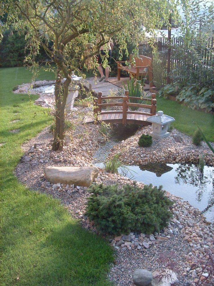 Photo of peaceful beautiful garden – garden design
