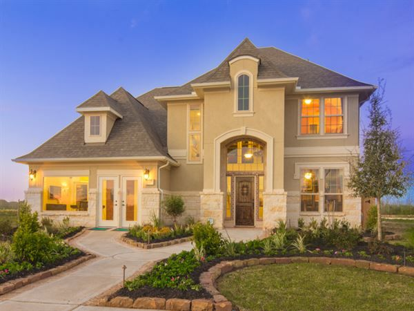 Ryland Homes Longview D Of The Preserve At Northampton Texas 60 Community In Spring Tx