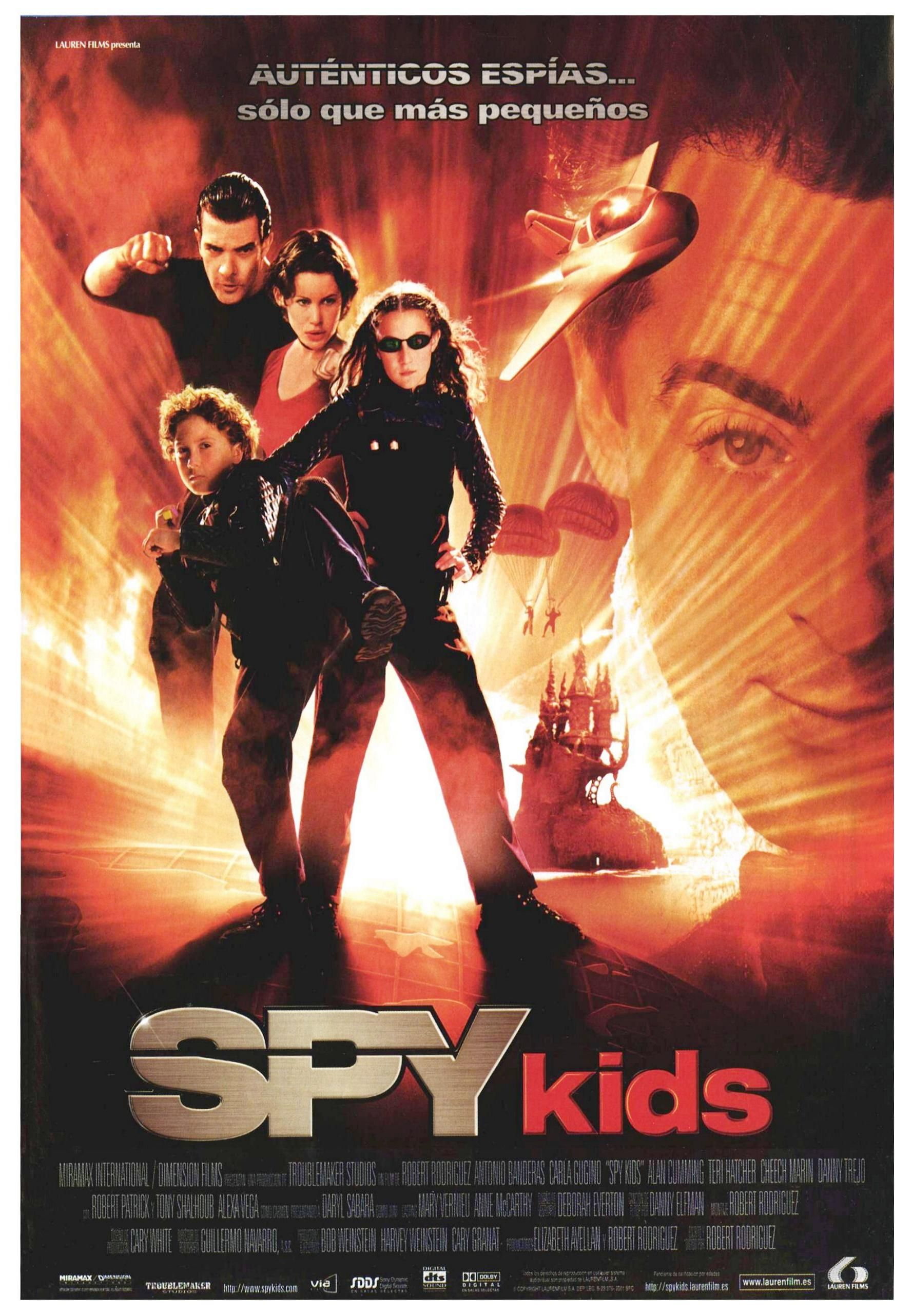 Spy Kids 2001 Tt0227538 Spy Kids Películas Completas Peliculas